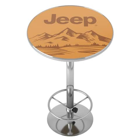 Jeep Sand Mountain Chrome Pub Table