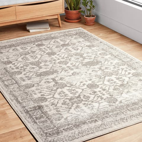 Alexander Home Bellagio Modern Farmhouse Distressed Rug