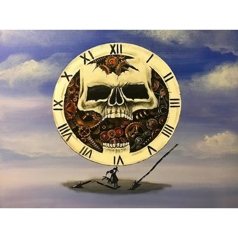Mystery Girl Time of Death by Ed Capeau Giclee Art Painting Reproduction POD