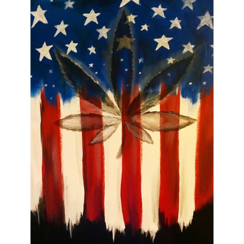 Homegrown Patriot by Ed Capeau Giclee Art Painting Reproduction POD