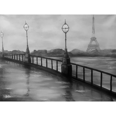 Rainy Day in Paris by Ed Capeau Giclee Art Painting Reproduction POD