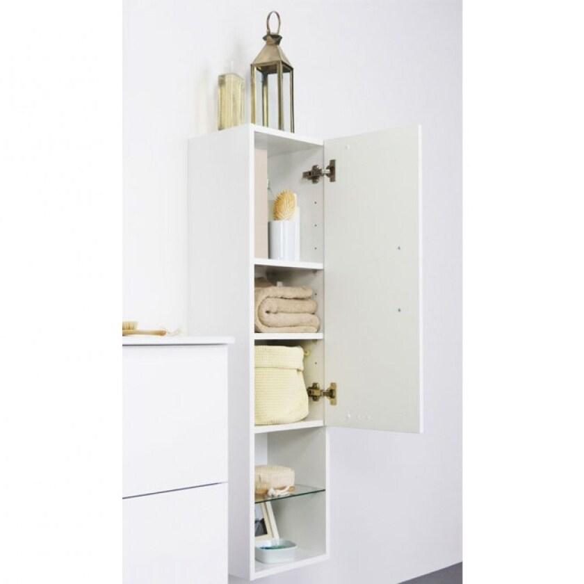 Modern Bathroom Linen Storage Cabinet