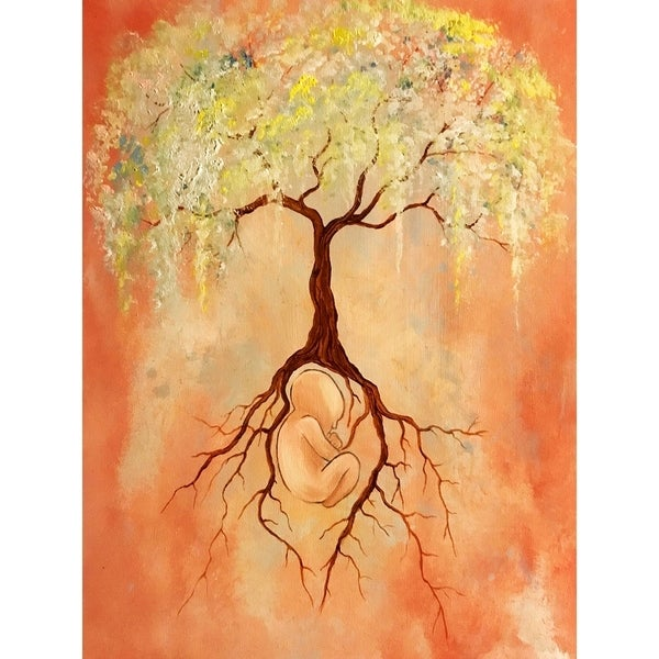Tree of Life by Ed Capeau Giclee Art Painting Reproduction POD. Opens flyout.