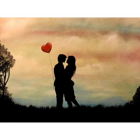 Young Love by Ed Capeau Giclee Art Painting Reproduction POD