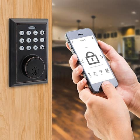 Honeywell Digital Deadbolt Bluetooth Door Lock