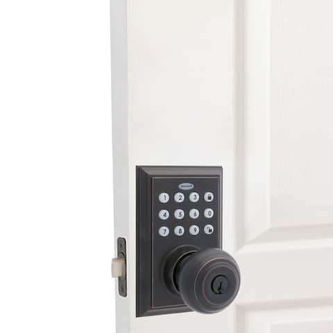 Honeywell Bluetooth Digital Entry Keypad w/Knob Door Lock