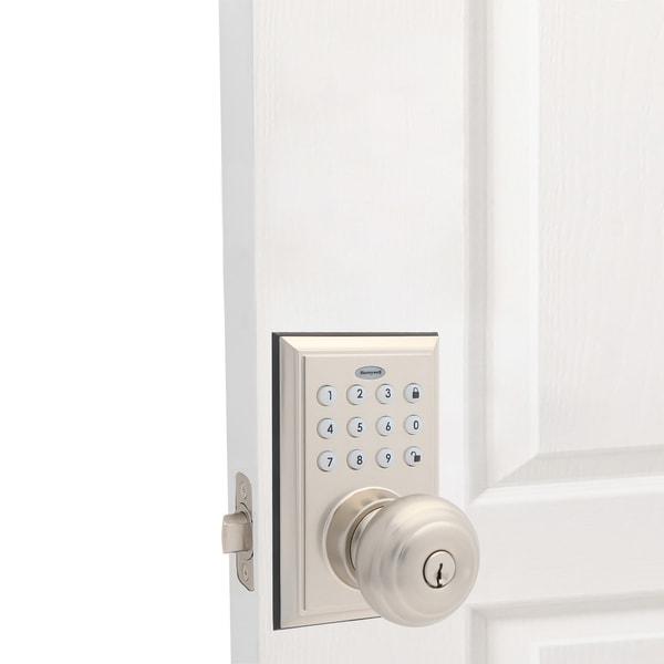 Honeywell Bluetooth Digital Entry Keypad w/Knob Door Lock. Opens flyout.