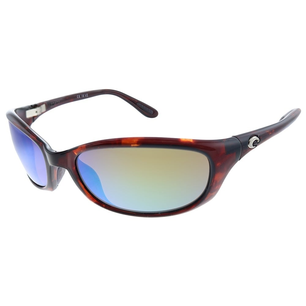580G Green Mirror Polarized Costa Del Mar Mag Bay Sunglasses AA-98-OGMGLP Grey