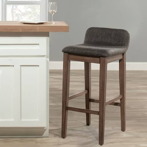Renmark Counter Height Stool, Brushed Gray - N/A