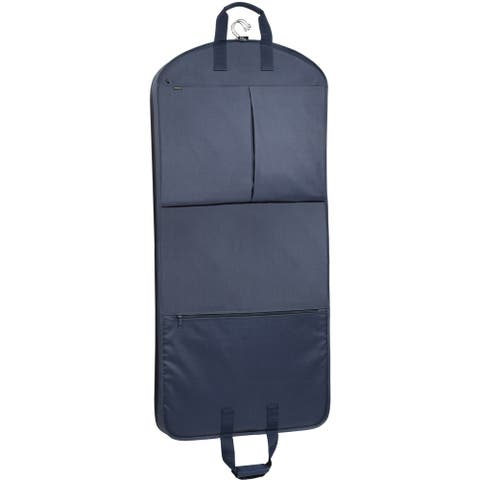 WallyBags 52-inch Garment Bag with Extra Capacity and Accessory Pockets - 52 x 22 x 4