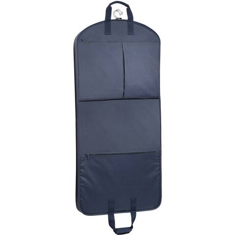 WallyBags 52-inch Garment Bag with Accessory Pockets - 52 x 22 x 3