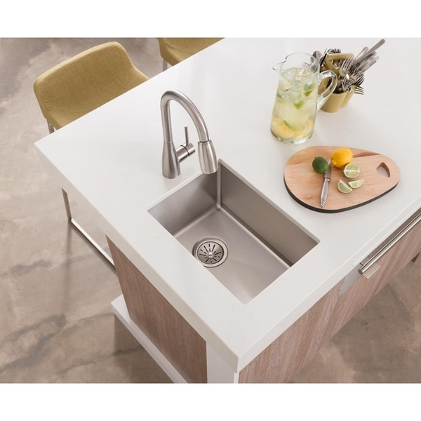 Elkay Avado Single Hole Bar Faucet with Pull-down Spray and Forward Only Lever Handle Chrome