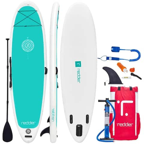 Redder Zen 10'8 Inflatable Stand Up Paddle Board with Accessories
