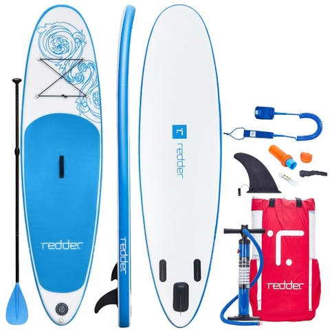 Redder Vortex 10' Inflatable Stand Up Paddle Board with Accessories