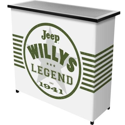 Jeep Willys Legend Collapsible Portable Bar