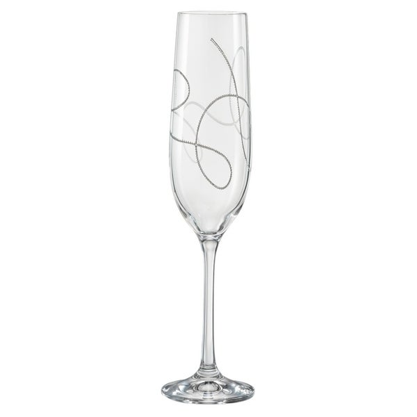 Majestic Gifts Inc. European Glass Toasting Flutes-S/4-9oz