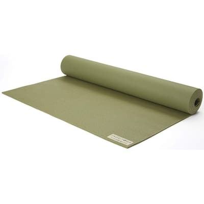 "Jade Yoga 368OL Harmony Mat, Olive Green, 3/16"" 24"" x 68"""