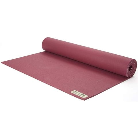 "Jade Yoga 368RA Harmony Mat, Raspberry, 3/16"" 24"" x 68"""