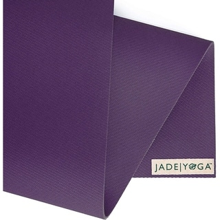 """Link to Jade Yoga 374P Harmony Mat, Purple, 3/16"""" 24"""" x 74"""" Similar Items in Fitness & Exercise Equipment"""