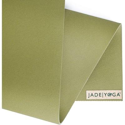 "Jade Yoga 374OL Harmony Mat, Olive Green, 3/16"" 24"" x 74"""