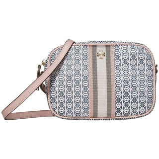 Link to Tory Burch Gemini Link Canvas Mni Bag Coastal Pink Gemini Link Similar Items in Shop By Style