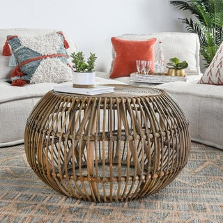 The Curated Nomad Wayne Round Coffee Table