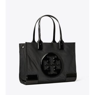 Link to Tory Burch Ella Patent Tote Black Similar Items in Shop By Style