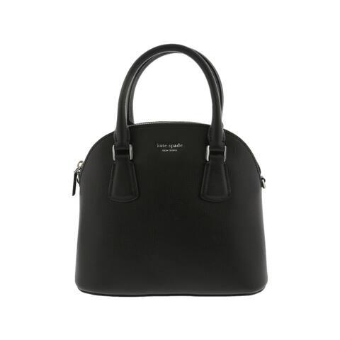 Kate Spade New York Slyvia Medium Dome Satchel Bag Black