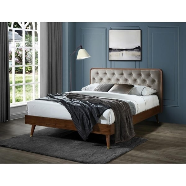 Carson Carrington Iglaholmen Tufted Queen Bed. Opens flyout.