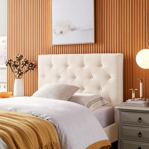 Atterbury Contemporary Upholstered Twin Headboard by Christopher Knight Home