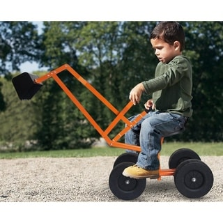 Link to Sand Digger Toy Backhoe with Wheels Kid's Outdoor Ride-on Dig Similar Items in Bicycles, Ride-On Toys & Scooters