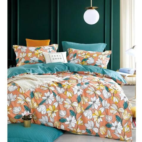 Bohemian Leila 100% Cotton Reversible Comforter Set