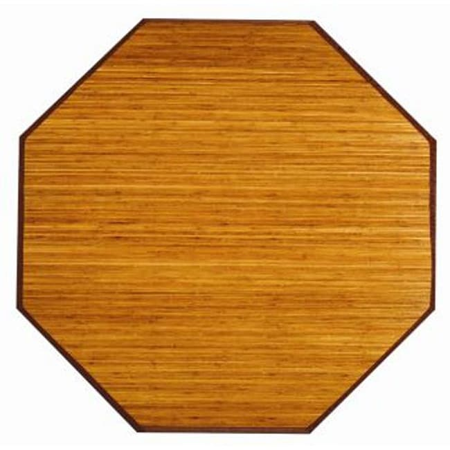 Camel Rayon from Bamboo Rug (5' Octagon)
