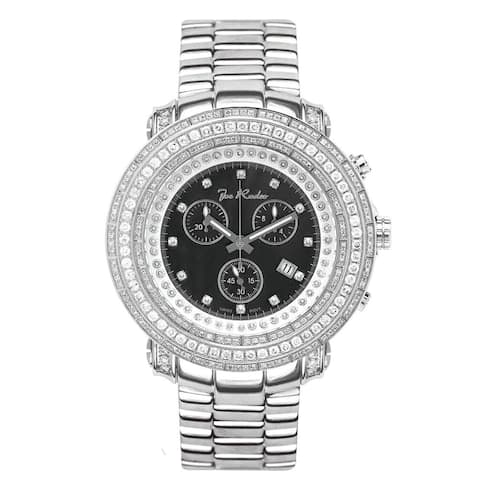 Joe Rodeo Mens Diamond Watches Genuine Diamonds, 50mm size case, model: JUNIOR