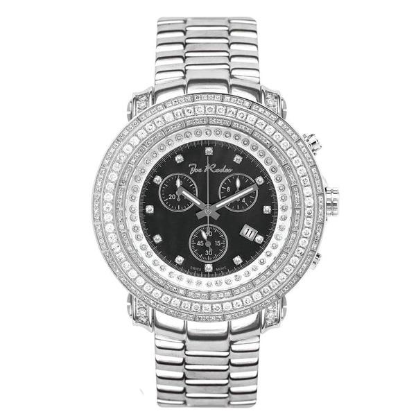 Joe Rodeo Mens Diamond Watches Genuine Diamonds, 50mm size case, model: JUNIOR. Opens flyout.
