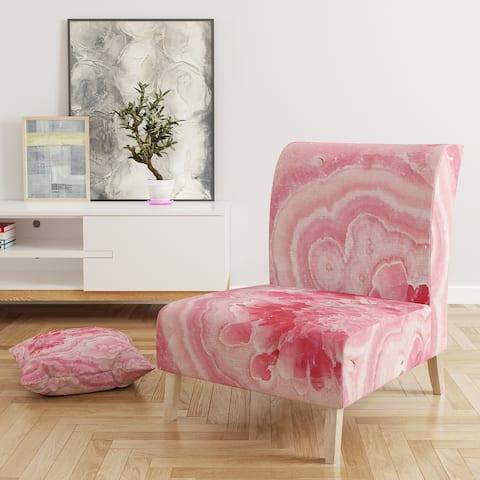 Designart 'Quartz Texture' Upholstered Tranditional Accent Chair