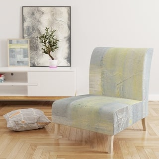 Designart 'Patchwork Abstract II' Upholstered Modern Accent Chair