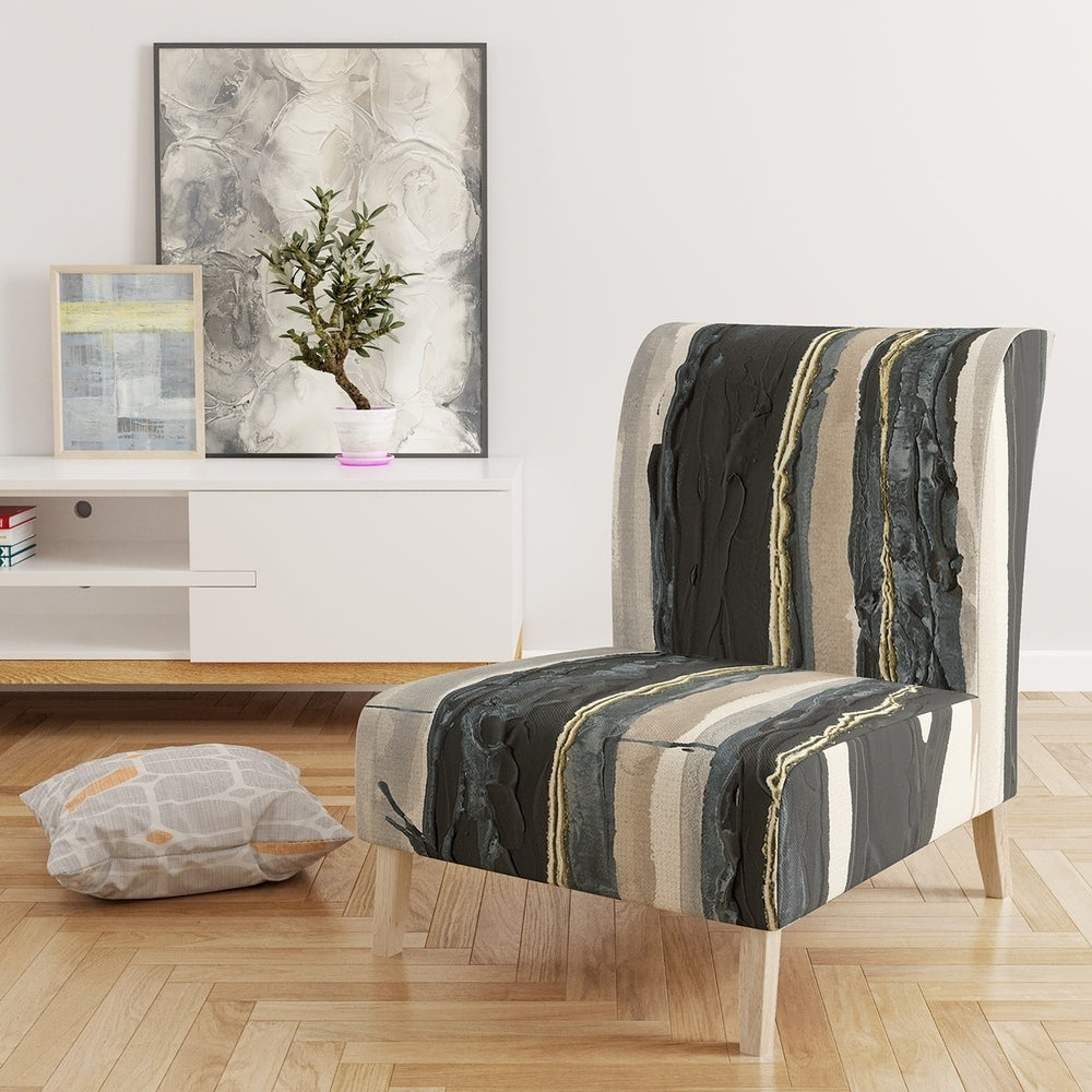 Modern Formal Living Room, Design Artdesignart Forest Silhouette Ii Upholstered Modern Farmhouse Accent Chair Side Chairs Dailymail
