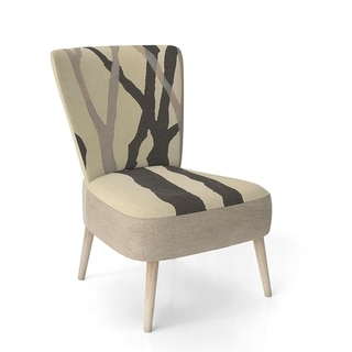 Modern Formal Living Room, Design Artdesignart Forest Silhouette Iv Upholstered Modern Farmhouse Accent Chair Side Chairs Dailymail