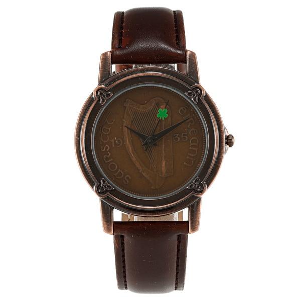 ef7dd148518ea Shop American Coin Treasures Lucky Irish Penny Watch - On Sale ...