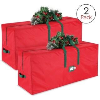 "StorageMaid Christmas Tree Storage Bag - Set of 2 - 48"" x 15""x 20"""