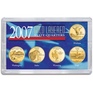 American Coin Treasures 2007 Gold-layered State Quarters