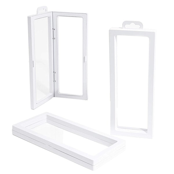 Floating Wall Display Case for Medallions - Home Decoration, Coins (3 Pack)