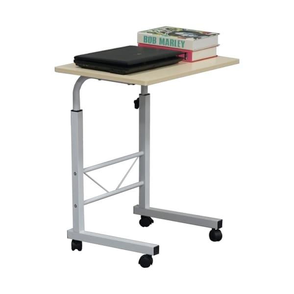 Overbed Table Medical Adjustable Portable Notebook Desk