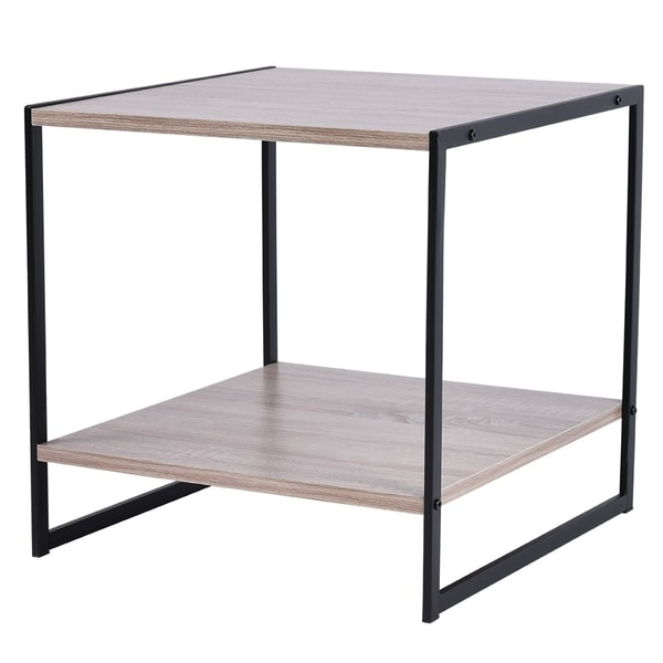 End Coffee Table Small Square Occasional Vintage Side Table