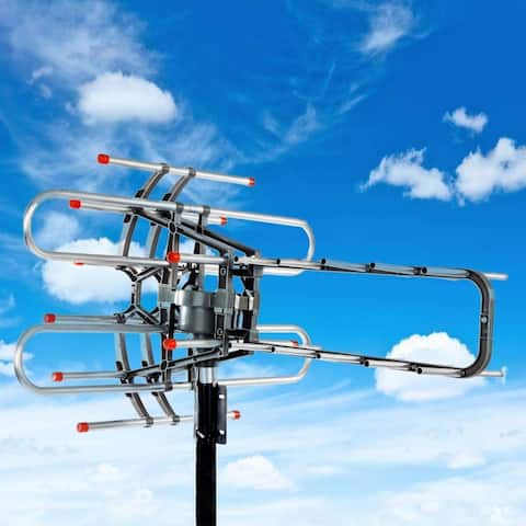 Outdoor HD TV Antenna, Model Up to 150 Miles Long Range