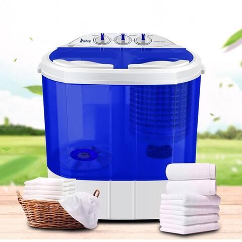 10.4Lbs Semi-automatic Twin Tube Washing Machine