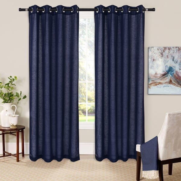 Glamburg Linen Cotton Window Curtains
