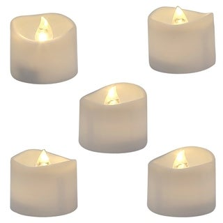 Electric Fake Candle in Warm White and Wave Open