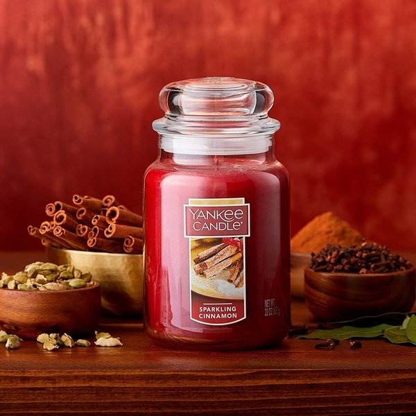 Candle Large Jar Candle Sparkling Cinnamon